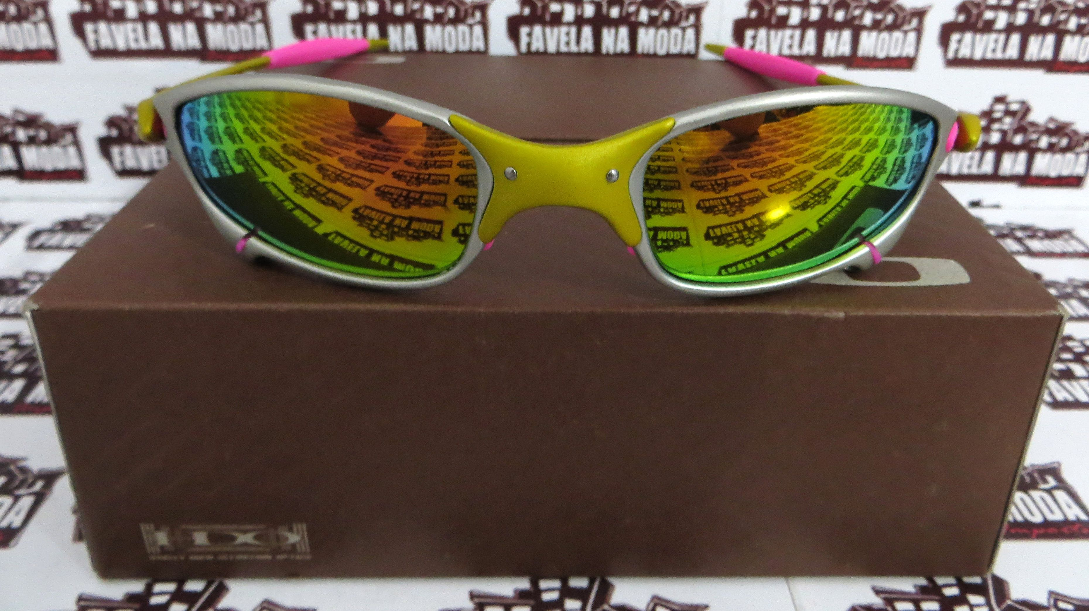 3f95dc35897ab Óculos Oakley Juliet - 24K   Pink   Borrachas Rosa